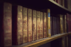 Vintage books Stock Photography