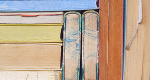 Vintage books close up Stock Photo