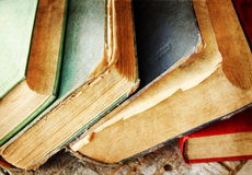 Vintage books Royalty Free Stock Photo
