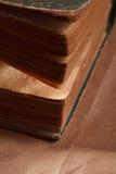 Vintage books. closeup. Stock Photo