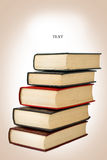 Vintage Books color processed Royalty Free Stock Photo
