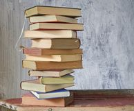 Vintage books, Royalty Free Stock Photo