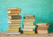 Vintage books Stock Image
