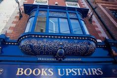 Vintage bookstore, Dublin. Vintage bookstore store front, Dublin Ireland stock image
