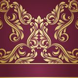 Vintage border. Abstract flower background Royalty Free Stock Images
