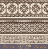 Vintage Border design elements Royalty Free Stock Images