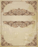 Vintage border frame Royalty Free Stock Image