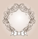 Vintage border frame Stock Photo