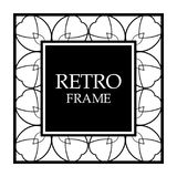 Vintage border frame stock illustration