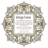 Vintage border frame Stock Photography