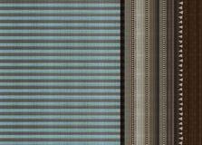 Vintage border with stripe pattern vector illustration