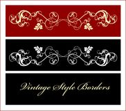 Vintage borders Royalty Free Stock Image