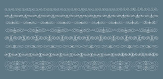Vintage borders, vector Royalty Free Stock Photography