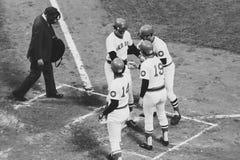 Vintage Boston Red Sox Royalty Free Stock Photos