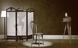 Vintage Boudoir Photography Royalty Free Stock Image
