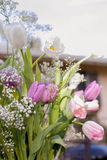 Vintage bouquet of flowers Royalty Free Stock Photo