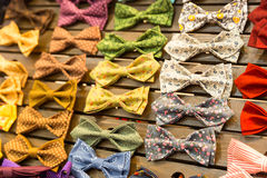 Vintage bow-ties Stock Images
