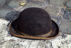 Vintage Bowler Hat Royalty Free Stock Images