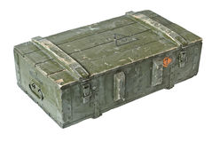 Vintage Box of ammunition Stock Images