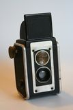 Vintage Box Camera. Front view Royalty Free Stock Photos
