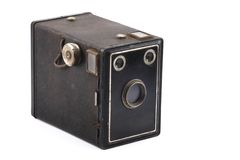 Vintage box camera Stock Photos