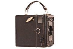 Vintage box camera Stock Photo