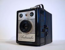 Vintage box camera Royalty Free Stock Photography