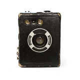 Vintage box camera Royalty Free Stock Images