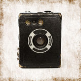 Vintage box camera Stock Image