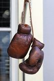 Vintage boxing gloves Stock Images