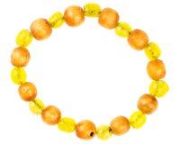 Vintage bracelet made of beads Royalty Free Stock Photo