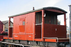 Vintage Brake Van Stock Photos