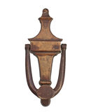 Vintage brass door knocker Stock Photography