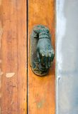 Vintage brass doorknob Royalty Free Stock Photo