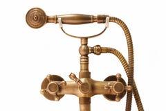 Vintage brass douche Stock Photo