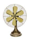 Vintage brass fan Stock Photos