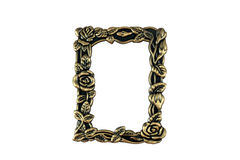 Vintage Brass Frame Royalty Free Stock Photos