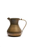 Vintage brass jug Stock Photos