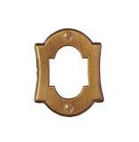 Vintage brass number plate Stock Images