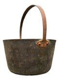 Vintage Brass Pail Stock Image
