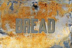 Vintage bread box texture Royalty Free Stock Photo