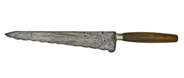 Vintage bread knife Royalty Free Stock Images