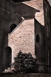 Vintage brick building Royalty Free Stock Images