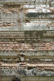 Vintage brick and cement background Royalty Free Stock Images