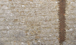 Vintage brick and stone wall, background texture. Vintage brick and stone wall, for background or texture Stock Images