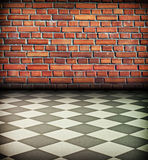 Vintage brick wall Royalty Free Stock Photos