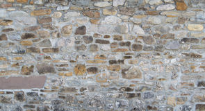 Vintage brick wall, architectural background texture Royalty Free Stock Photography