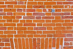 Vintage brick wall background Stock Images