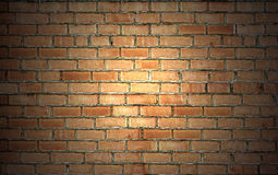 Vintage brick wall background Royalty Free Stock Photos