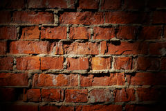 Vintage brick wall background Royalty Free Stock Image